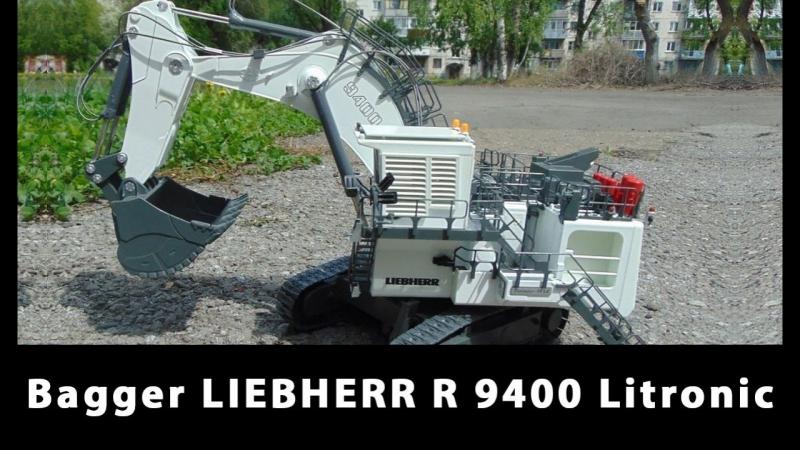 Bagger LIEBHERR R 9400 Litronic