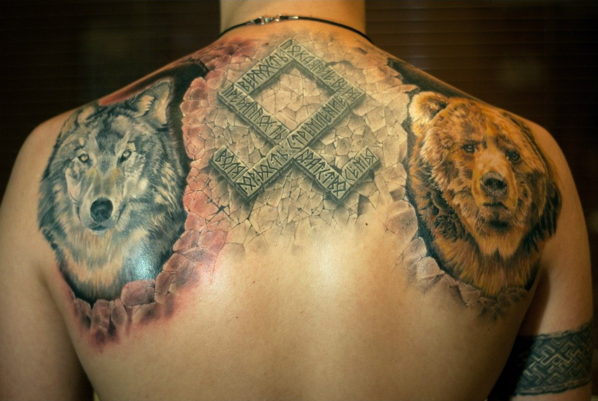 славянские татуировки для мужчин