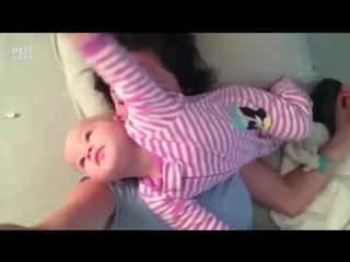 Спать рядом с ребенком — значит не спать