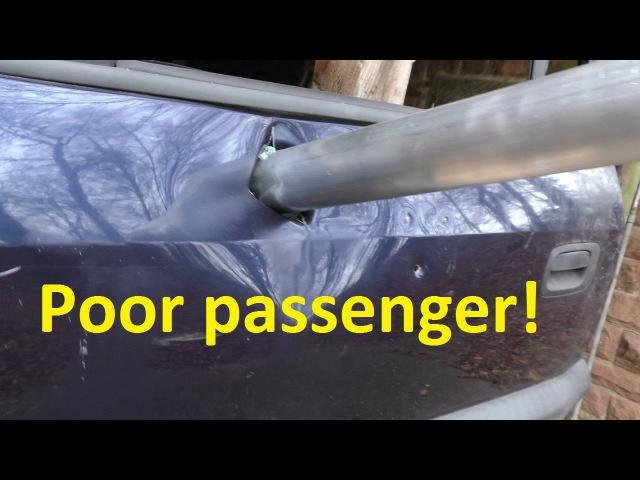 Airzooka Car Door Win!