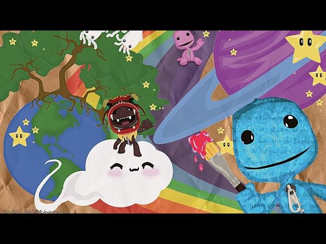 Прохождение LittleBigPlanet 2 - Victoria's Laboratory (Лаборатория Виктории) с Настей (Co-Op)