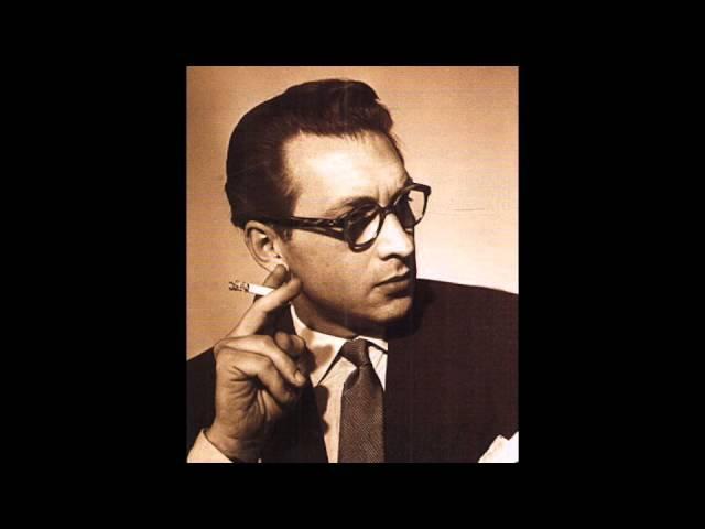 Геза Анда. Шуман Симф. этюды (1953) Geza Anda plays Schumann's Etudes Symphoniques Op.13 (1953)