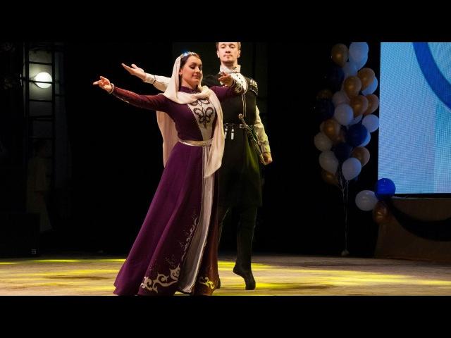 Парный танец Magic of the Orient 2016 Ансамбль кавказского танца Ловзар г Томск Лезгинка
