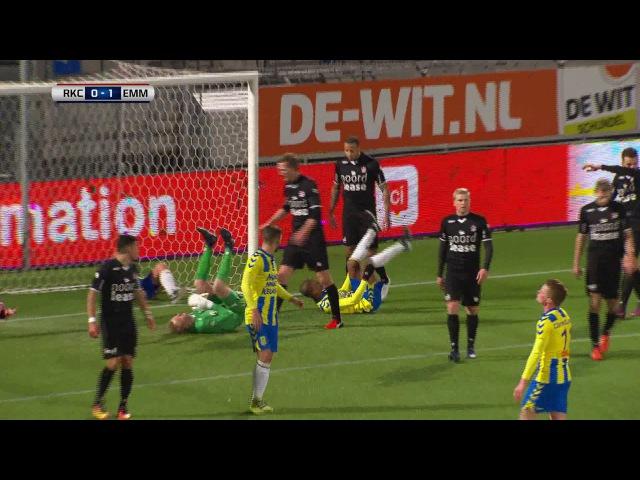 Samenvatting van de wedstrijd RKC Waalwijk - FC Emmen