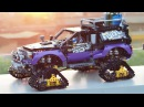 Lego 42069 Extreme Adventure full RC mod with Power Functions SBrick