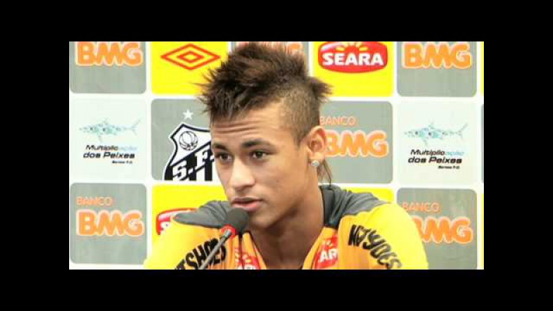 Coletiva de imprensa - Neymar (30/03/11)