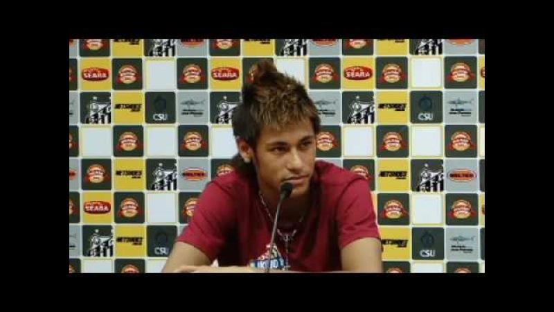 Neymar - Coletiva de Imprensa