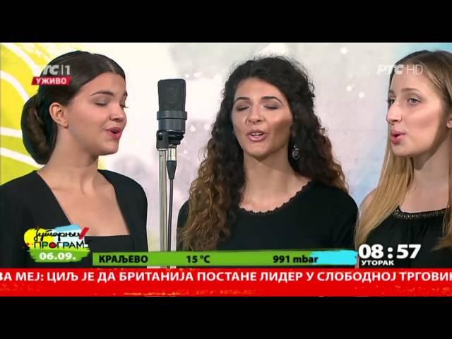 Danica Krstić i grupa Dunav - Tri devojke zbor zborile