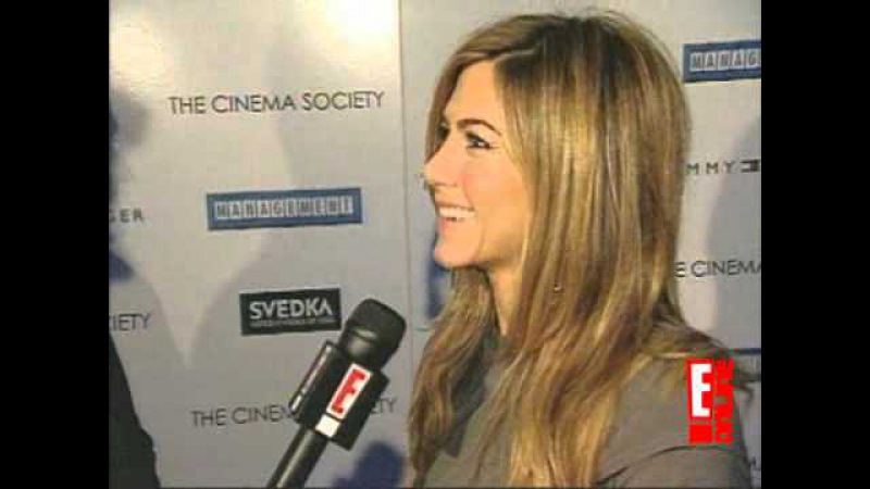 Jennifer Aniston talks Cougar Town