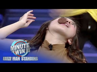 Face The Cookie | Minute To Win It - Last Man Standing