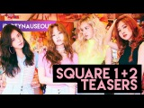 IF SQUARE 1 &amp 2 HAD INDIVIDUAL TEASERS  BLACKPINK
