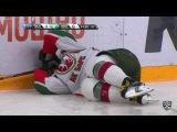 КХЛ (Континентальная хоккейная лига) - Моменты из матчей КХЛ сезона 16/17 - Удаление. Евгений Кетов