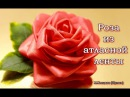 Роза из атласной ленты /ENG SUB/ Satin rose/ Марина Кляцкая