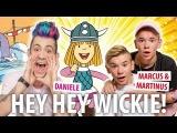 Marcus &amp Martinus &amp Daniele Negroni singen Hey Wickie