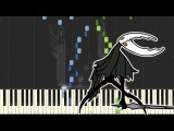 Sealed Vessel - Hollow Knight Piano Tutorial (Synthesia)