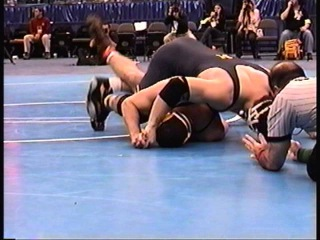 Greg Wagner vs. Cain Velasquez - Arizona State - NCAA 2006