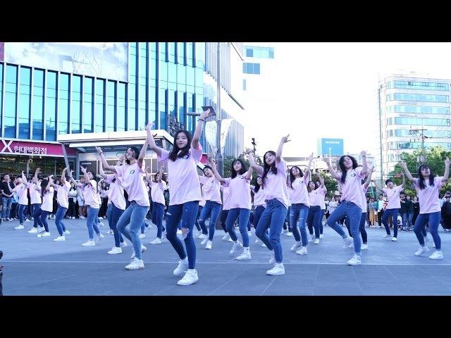 [4K] 170514 비바댄스 스튜디오 (VIVA DANCE STUDIO) - 나야 나(PICK ME)/PRODUCE 101 [신촌 영동군 플래시몹]