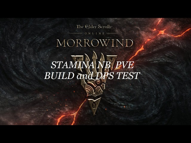ESO Stamina Night Blade PVE Build and DPS Test