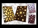 How to DIY Aluminum Foil Art craft tutorial Как сделать Декор из фольги пошаговая инструкция