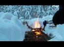 Как разжечь костер из сырых дров за 2 минуты
