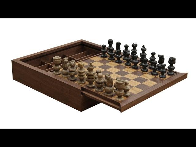 Making a Custom Chess Board Box - 268