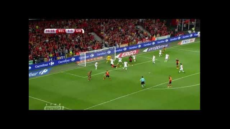 Axel Witsel Bycicle Goal vs Gibraltar