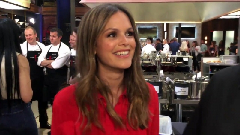 Food and fun at Gordon Ramsay's The F Word! We caught up with the contestants and chatted with The O.C.'s Rachel Bilson! Check i