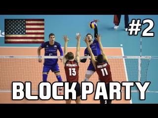 USA BLOCK PARTY Part 2 - USA Volleyball - World League