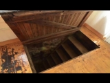 He Discovered a Secret Door in the Floor of His New Apartment look what he found inside