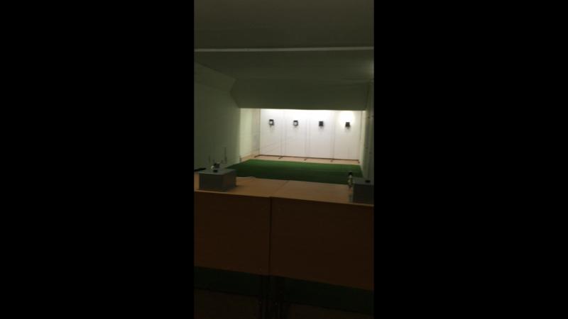 Выполнение норм ГТО по стрельбе в тире 5-ой гимназии г. Чебоксары