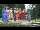 Дефиле дизайнера Алёны Фоминой на Арт -прогулке Летний день под липами в г. Павловск Павловск