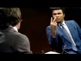 Мохамед Али, правильные слова о толерантности и телегонии.