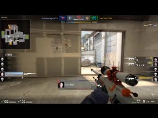 NiKo clutch 1v3 (mousesports vs. Immortals)