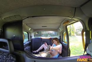 FemaleFakeTaxi – Rebecca M And Princess Paris