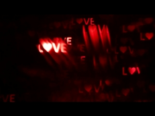 Футаж Love сердечки