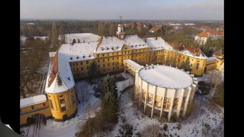 Wünsdorf Вюнсдорф Дом офицеров Январь 2017 Коллаж
