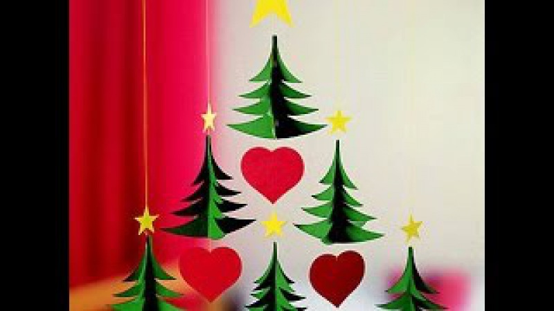Новогодние гирлянды своими руками для украшения детского сада