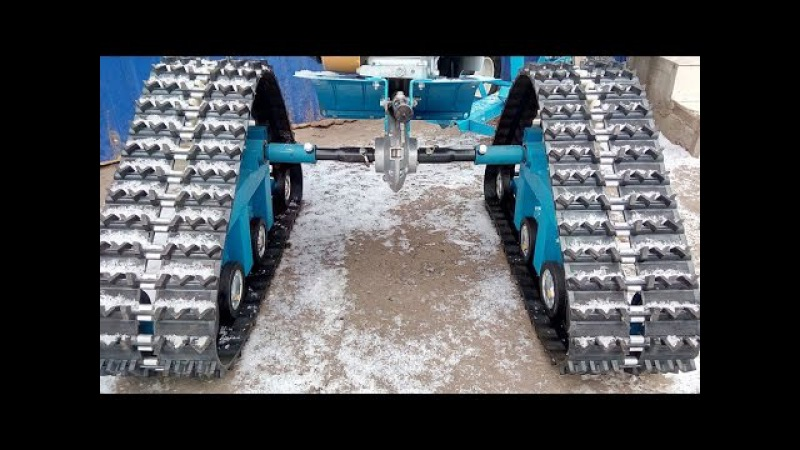 Почти трактор из мотоблока СуПЕР РЕШЕНИЕ! tractor of walking tractor. SUPER ACTION !