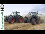 Fendt Traktoren  Strohpressen  Krone Ballenpresse  Black Beauty  Lohnunternehmen