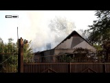 Срочно. ВСУ обстреляли пригород Луганска, горит жилой дом