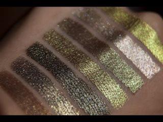 Медовая знахарка минеральные рассыпчатые тени ручной работы Tammy Tanuka