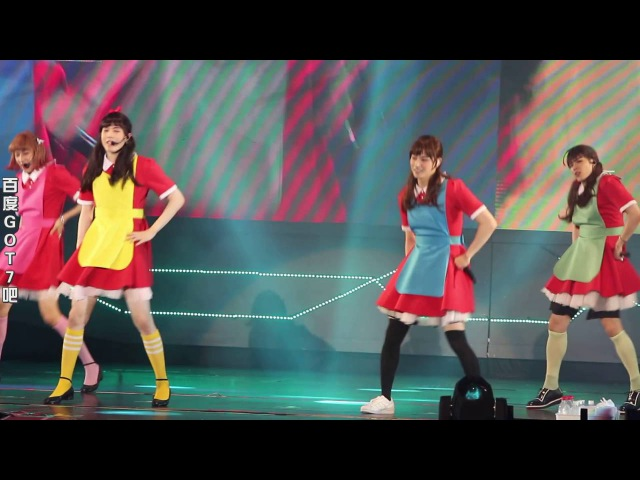 ☆BaiduGOT7-bar·Exclusive☆ 160618 GOT7 Fly in GUANGZHOU girl group dance session