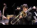 Martin van den Berg basstrombone plays Saturdaynight