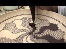 """上出長右衛門窯の祥瑞画法/""""Incomplete Circle""""Drawing and Painting Kutani Shonzui"""