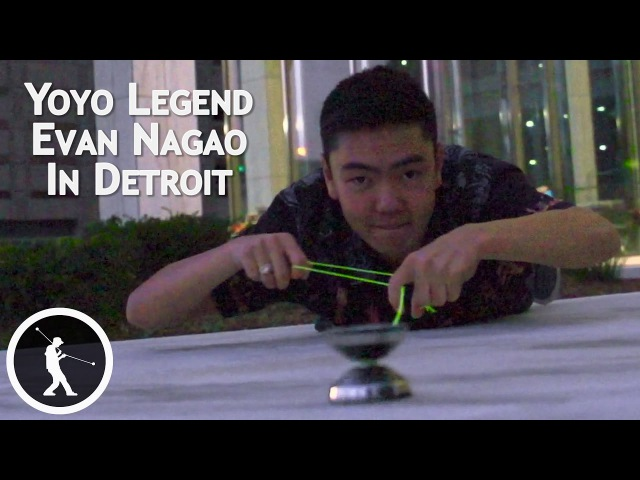 Yoyo Legend Evan Nagao in Detroit ft. Emoji by Pegboard Nerds