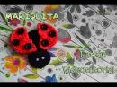 Mariquita Crochet Broche MUY FÁCIL