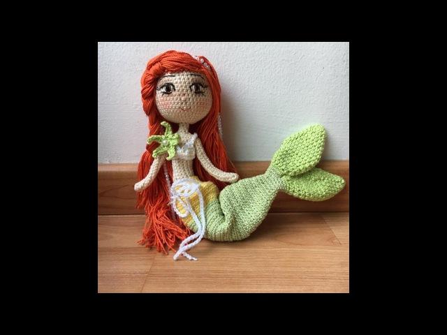 Como tejer piernas y brazos de la Sirenita Amigurumi By Petus PRIMERA PARTE 1/7