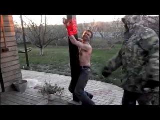 пытки и казнь в днр донецк украина torture and execution of DNR in Donetsk Ukraine