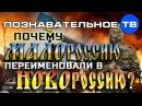 Почему НОВОроссию переименовали в МАЛОроссию Познавательное ТВ Артём Войтенк