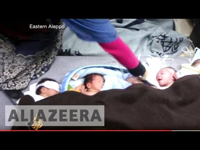 Терророссия: Российские ВКС разбомбили родильное отделение больницы в Алеппо.